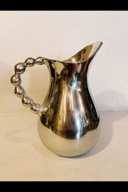 India Handicrafts Beaded Pitcher - Front cropped