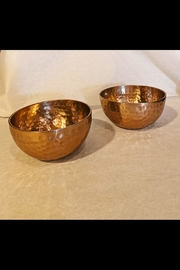 India Handicrafts Copper Hammered Bowl - Product Mini Image