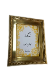 India Handicrafts Gilded Bead Frame - Front cropped