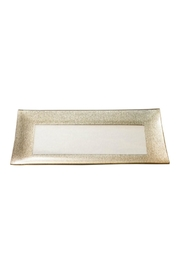 India Handicrafts Gold Rimmed Plate - Product Mini Image