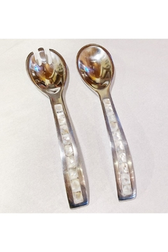 India Handicrafts Pearl Shell Servers - Product List Image