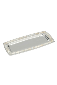 India Handicrafts Pearl Trim Tray - Product List Image