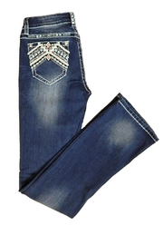 Grace in L.A. Indian Embroidery Jeans - Product Mini Image