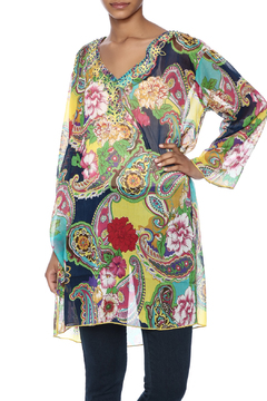 Indian Tropical Colorful Cover Up Kaftan - Product List Image