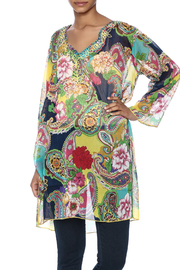 Indian Tropical Colorful Cover Up Kaftan - Product Mini Image