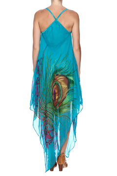 Indian Tropical Fabulous Peacock Dress - Alternate List Image