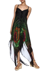 Indian Tropical Fabulous Peacock Dress - Product Mini Image