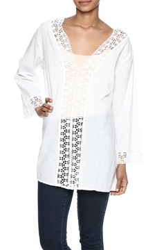 Indian Tropical Wonderful White Blouse - Product List Image