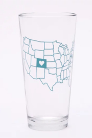 counter couture Indiana Pint Glass - Product Mini Image