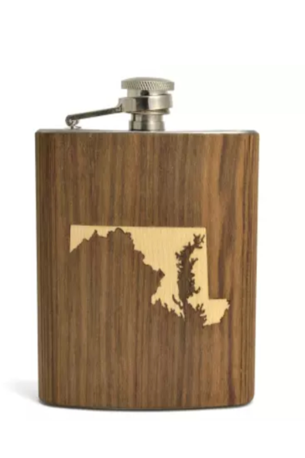 Autumn Summer Indiana Top Shelf Flask - Main Image
