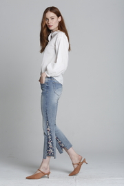 Driftwood Indie X Berry Jam Embroidered Jeans - Product Mini Image