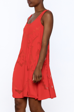 Shoptiques Product: Red Swing Dress