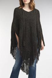 Indigenous Chic Fringe Poncho - Side cropped