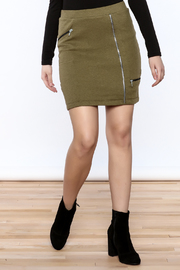 INDIGENOUS DESIGNS High Waist Cadet Skirt - Product Mini Image