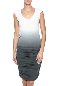 Shoptiques Product: Dip Dyed Ruched Dress