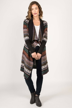 Indigenous Fair Isle Coat - Alternate List Image