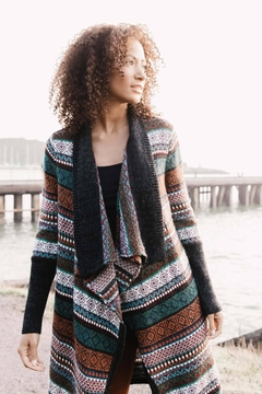 Indigenous Fair Isle Coat - Product List Image