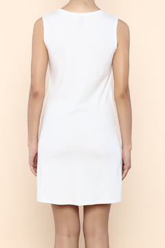 Indigenous Luxe Tank Dress White - Alternate List Image