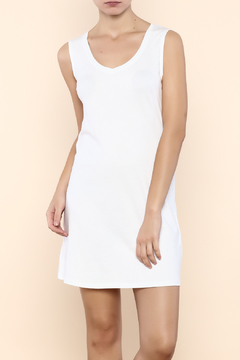 Indigenous Luxe Tank Dress White - Product List Image