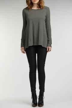 Shoptiques Product: Ruched Longsleeve Tee