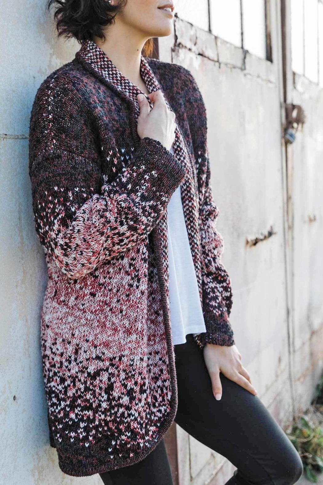 Indigenous Speckled Open Cardigan - Main Image