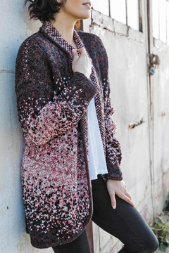 Shoptiques Product: Speckled Open Cardigan