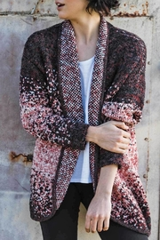 Indigenous Speckled Open Cardigan - Side cropped