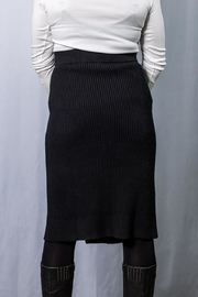 INDIGENOUS DESIGNS Cable Knit Skirt - Front full body
