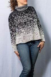 INDIGENOUS DESIGNS Funnel Neck Pullover - Front cropped