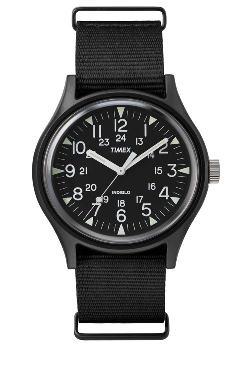 timex Indiglo Black Watch - Main Image