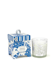 Michel Design Works Indigo Cotton 6.5 oz. Soy Wax Candle - Front cropped