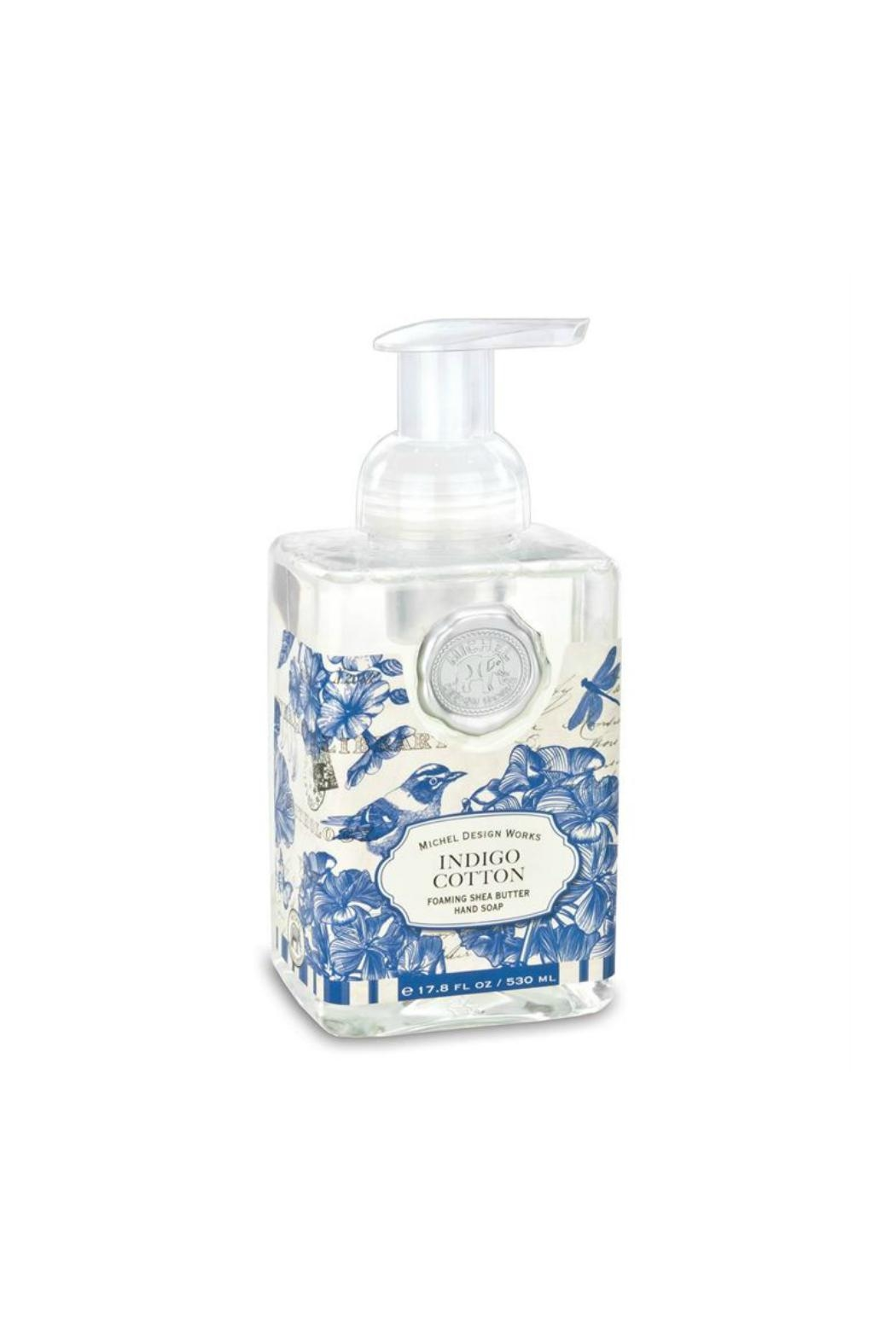 Michel Design Works Indigo/cotton Hand Soap - Front Cropped Image