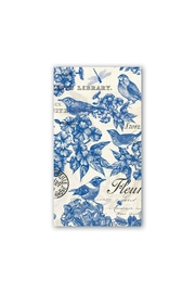 Michel Design Works Indigo/cotton Hostess Napkins - Product Mini Image