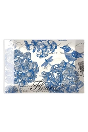 Michel Design Works Indigo Cotton Soapdish - Product Mini Image