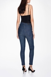 MOON DENIM Indigo Denim - Back cropped