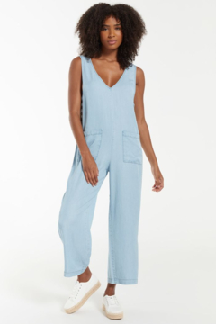 z supply Indigo Relaxed Jumpsuit - Product List Image