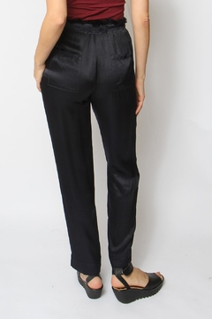 Tina + Jo Indigo Satin Jogger - Alternate List Image
