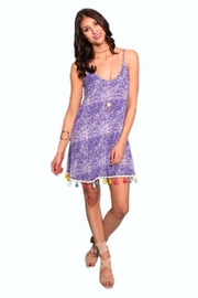 Judith March Indigo Tassel Dress - Product Mini Image