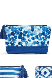 Two's Company Indigo Tech Bag - Front cropped