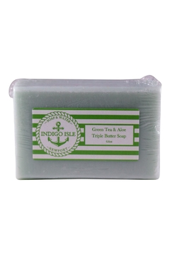 Shoptiques Product: Green Tea & Aloe Bar Soap