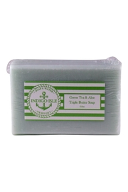 Indigo Isle Green Tea & Aloe Bar Soap - Product Mini Image
