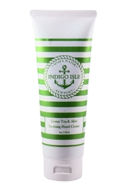 Indigo Isle Greentea&Aloe Hand Cream - Product Mini Image