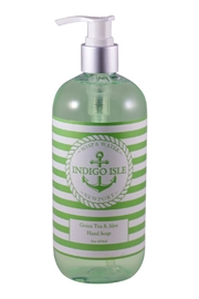 Indigo Isle Greentea&Aloe Hand Soap - Product Mini Image