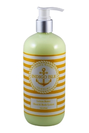 Indigo Isle Lemonbutter Body Lotion - Front cropped