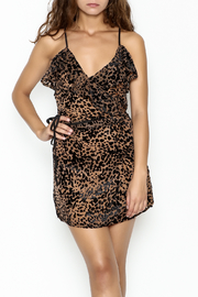 Indikah Leopard Print Skirt - Side cropped
