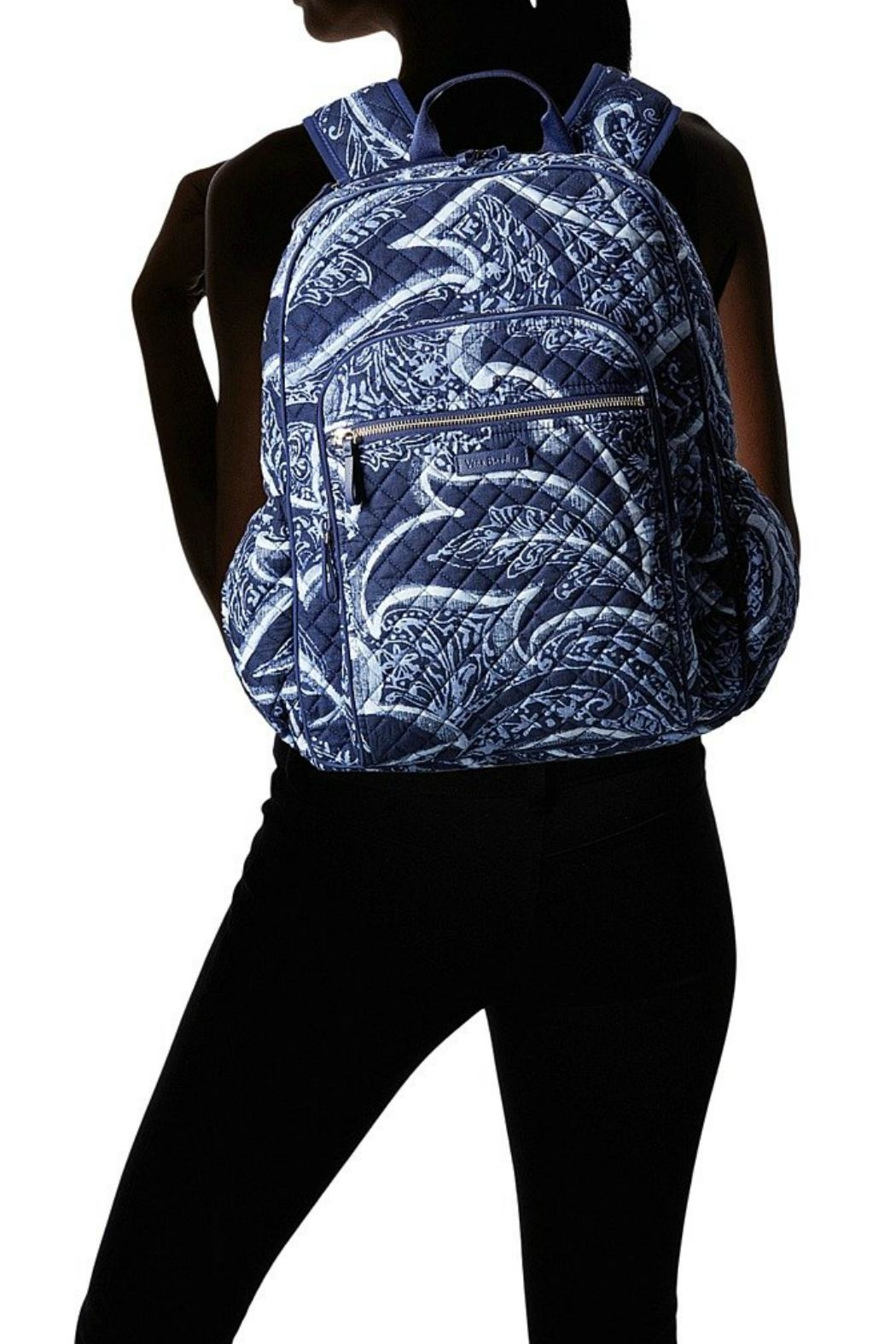 Vera Bradley Indio Campus Backpack - Back Cropped Image