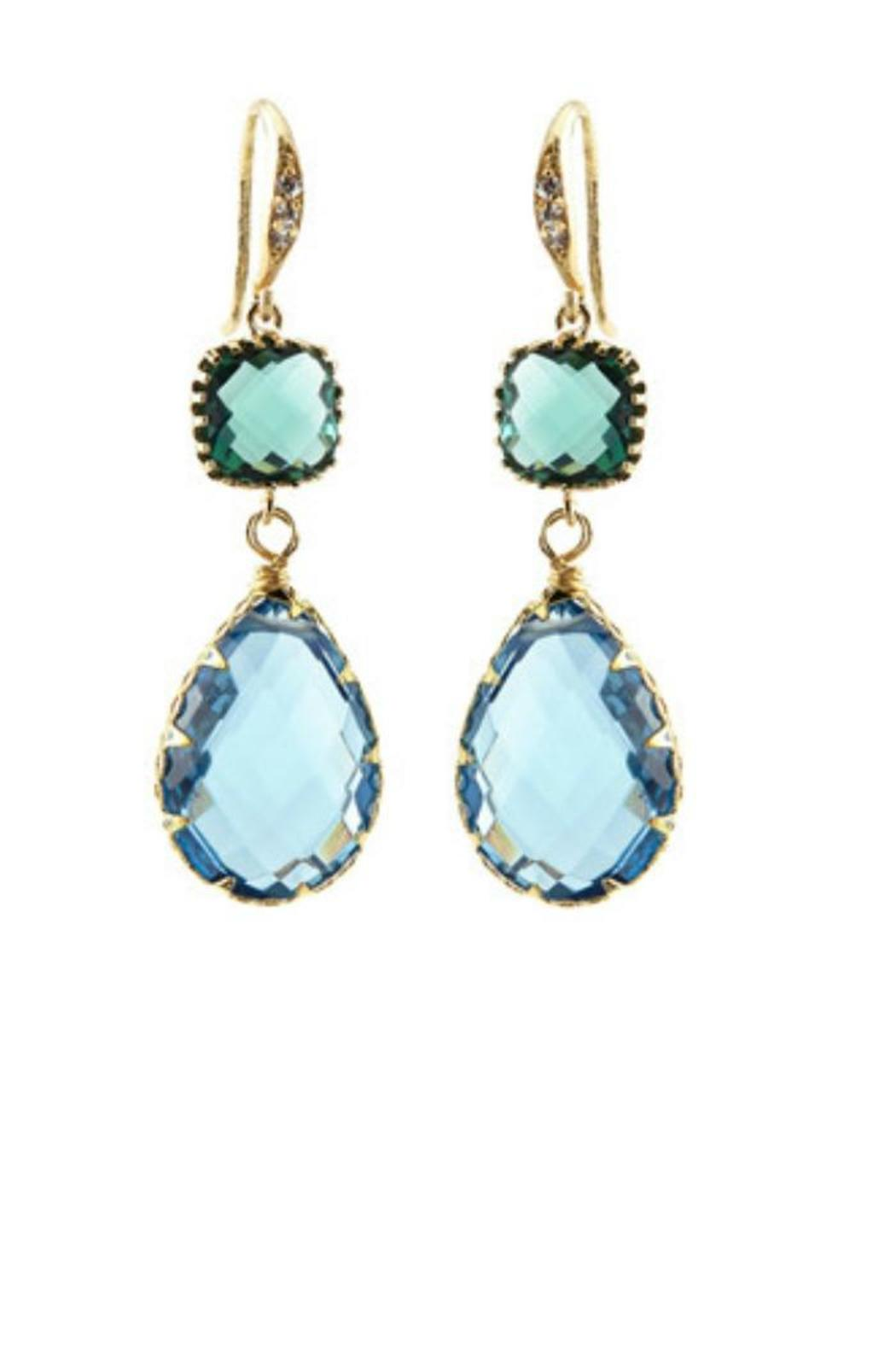 Indulgems Double Drop Earrings - Main Image