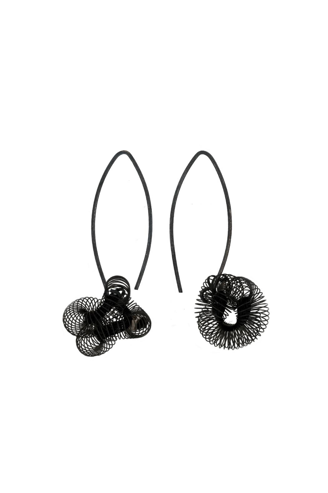 Industrial Jewellery Felicia Earrings - Front Cropped Image