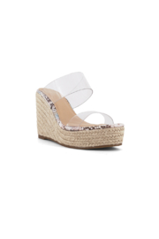 Shu Shop Shoes Inez-01 Wedge - Front full body