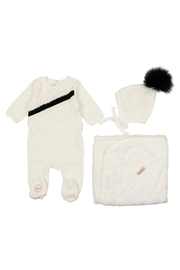 MON TRESOR  INFANT BABY LAYETTE BY BEBE - Front cropped